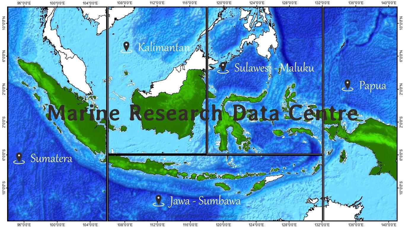 National Oceanographic - Oceanographic map